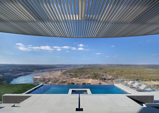 Hilltop Residence by Miró Rivera Architects in Austin, Texas