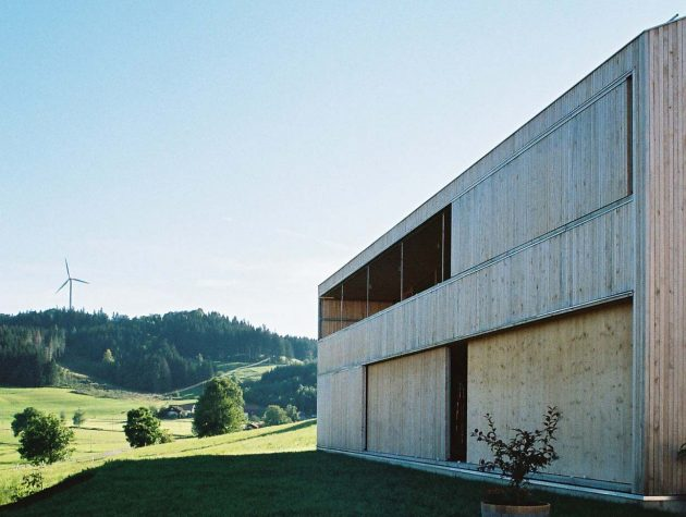 House S by Becker Architekten A Low Energy Home in Bavaria