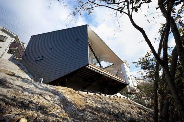 K House by D.I.G Architects in Nagoya City, Japan