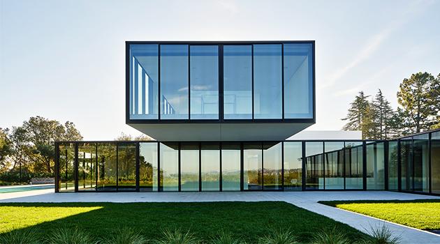 OZ House by Stanley Saitowitz in Atherton, California