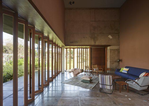 Shadow House by Samira Rathod Design Associates in Mumbai, India
