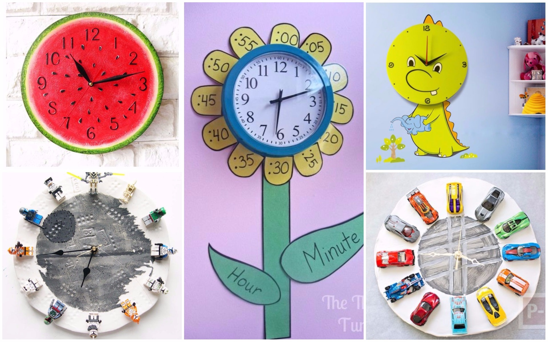 9 Most Amazing Wall Clock Designs To Adorn Your Kids Room