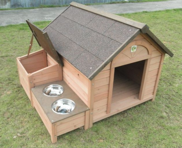 Diy Dog House Part - 26: 10 Simple But Beautiful DIY Dog House Designs That You Can Do Easily