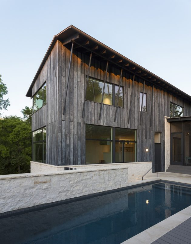 1 Hillside Residence by Tim Cuppett Architects in Austin, Texas