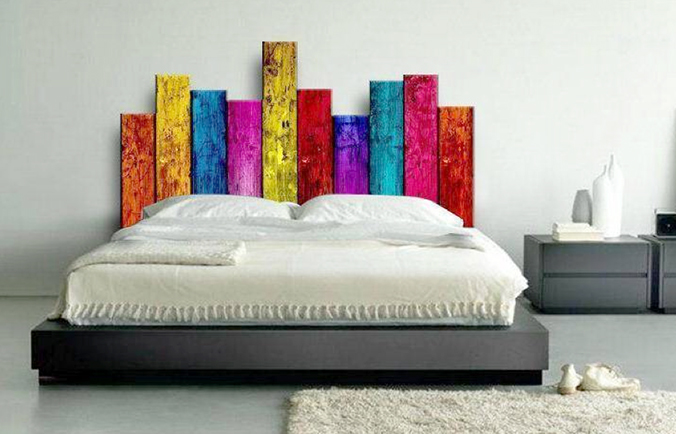 18 inspirational diy headboard ideas that you need to see - Ideas para cabeceros de cama originales ...