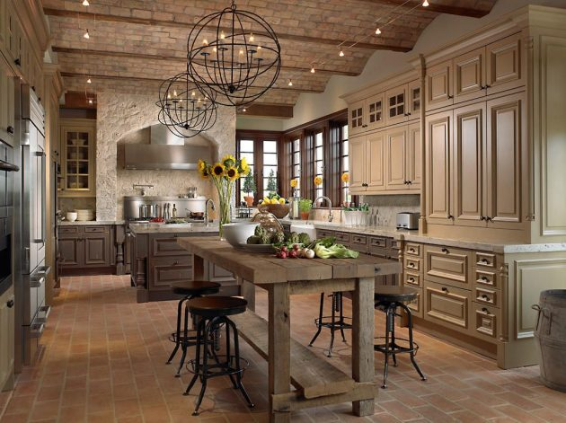 19 Marvelous Rustic Kitchen Designs That Will Attract Your Attention