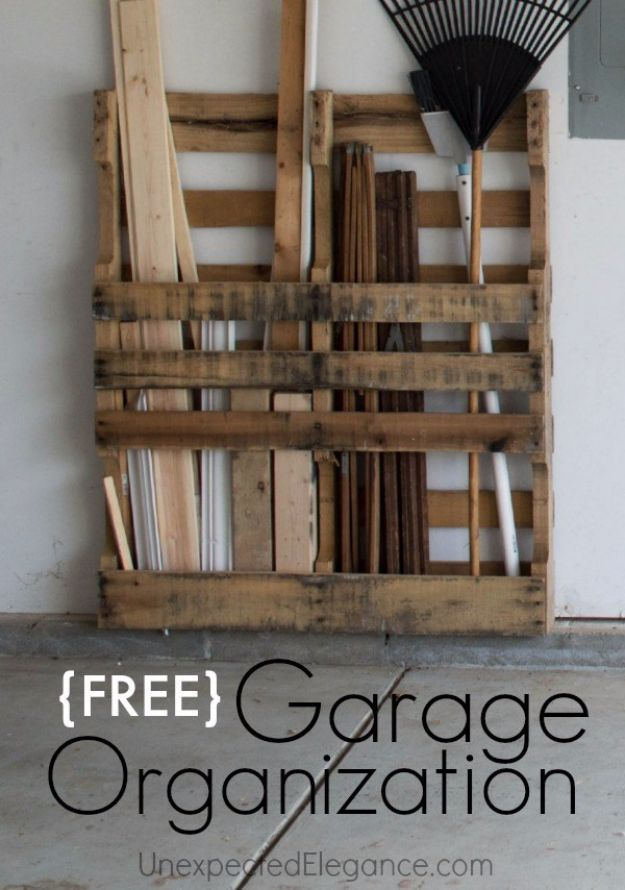 15 Absolutely Clever DIY Ideas That Will Organize Your Garage