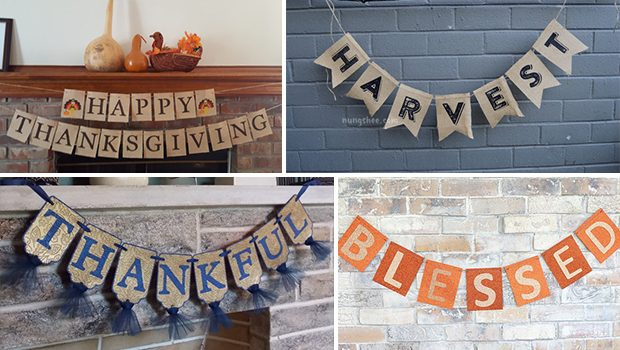15 Amazing Thanksgiving Banner Designs To Cheer Up Your Gathering