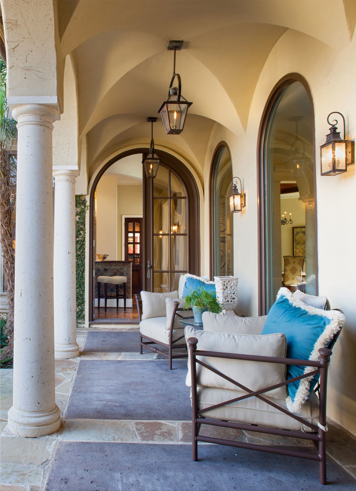 15 Beautiful Mediterranean Porch Designs That Will Drag