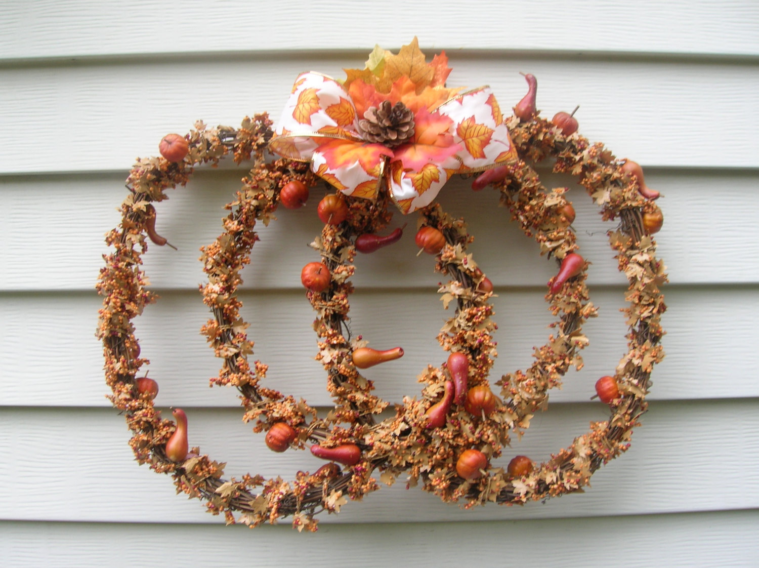 15 Dramatic Handmade Thanksgiving Wreath Designs You Need To Have