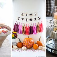 15 Wonderful DIY Thanksgiving Decor Ideas You Should Consider Crafting