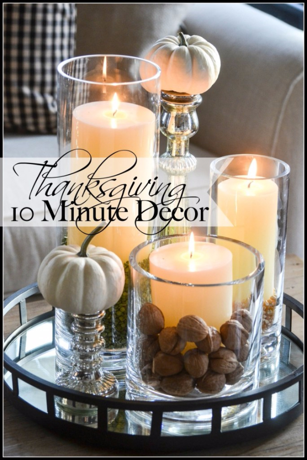 15 wonderful diy thanksgiving decor ideas you should for Thanksgiving 2016 home decorations