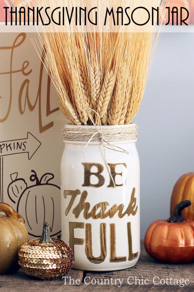 15 Wonderful DIY Thanksgiving Decor Ideas You Should Consider Crafting