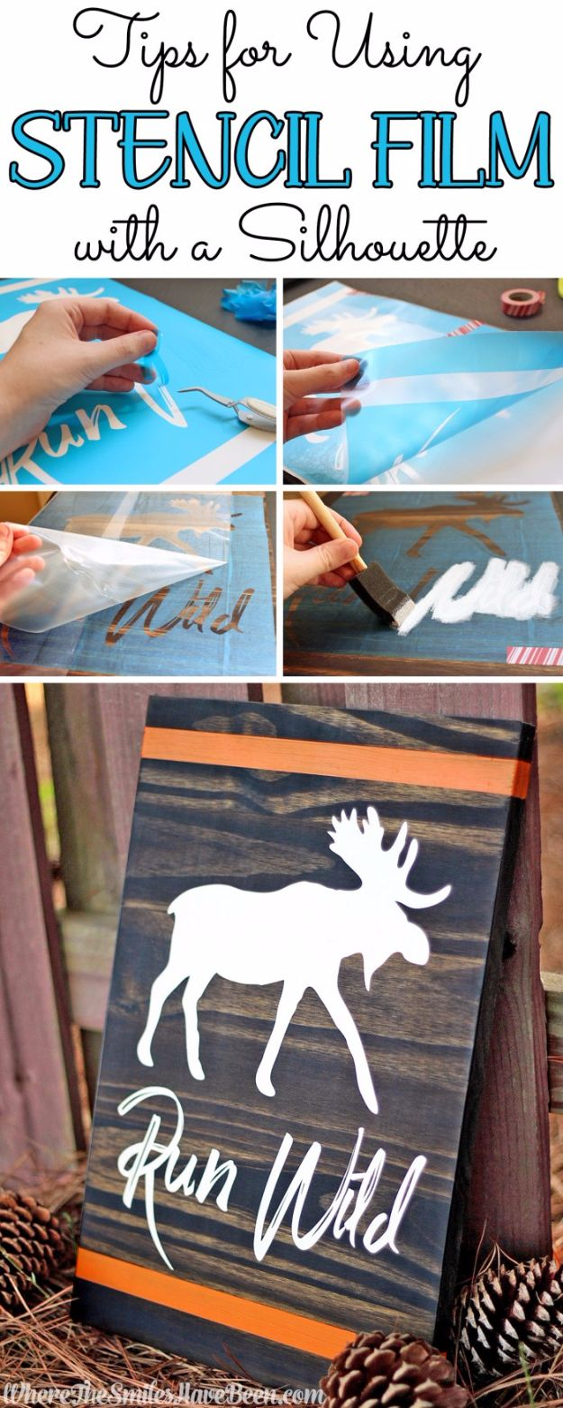 16 Amazing DIY Ideas Using Stencils To Display Your Creativity