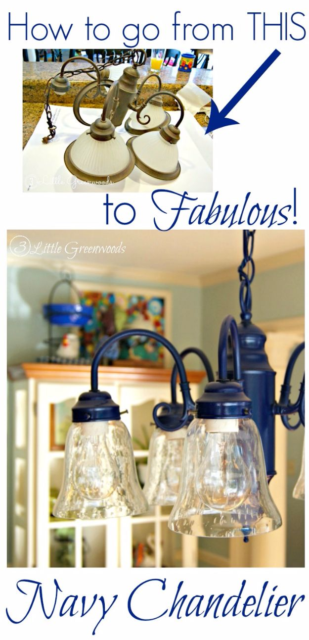 16 Amazing DIY Ways To Makeover Your Boring Chandeliers
