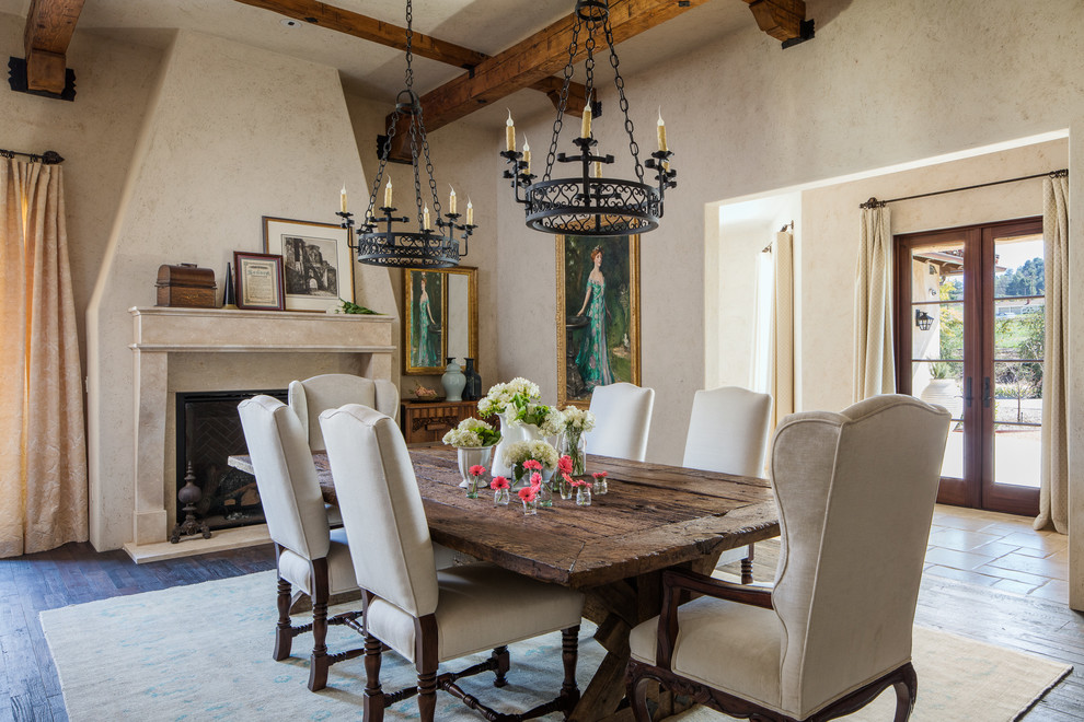 16 Beautiful Mediterranean Dining Room Designs You'll Never Want To Forget