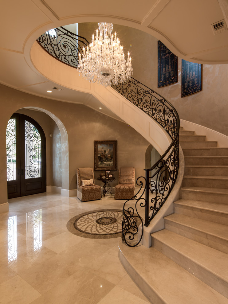 16 Neat Mediterranean Entryhall Designs You'll Want To Be Greeted By