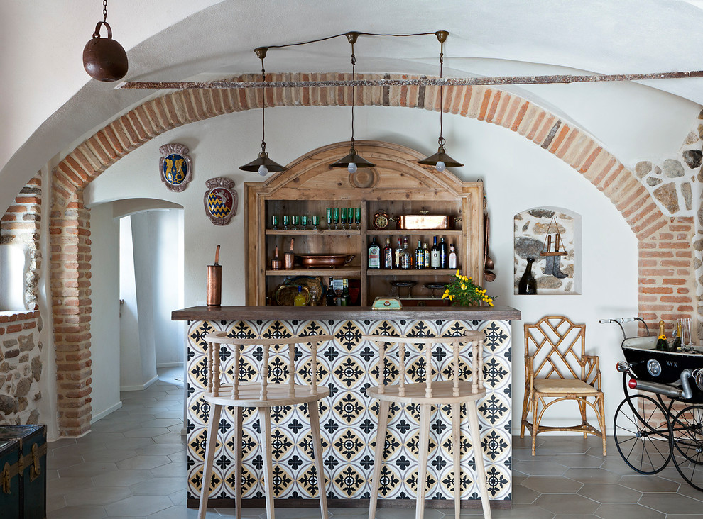 16 Wicked Mediterranean Home Bar Designs You Will Instantly Wish To Have