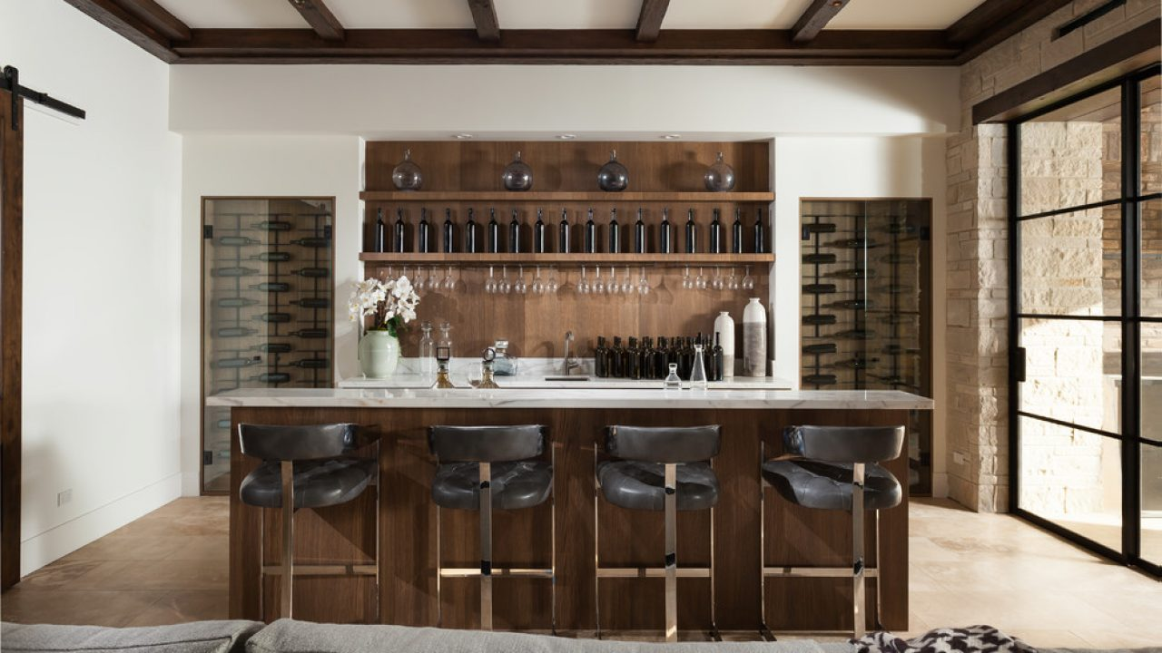 16 Wicked Mediterranean Home Bar Designs You Will Instantly ...