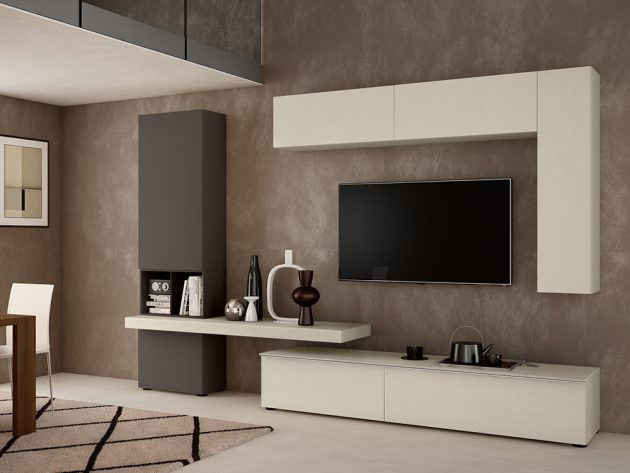 17 Outstanding Ideas For TV Shelves To Design More Attractive Living