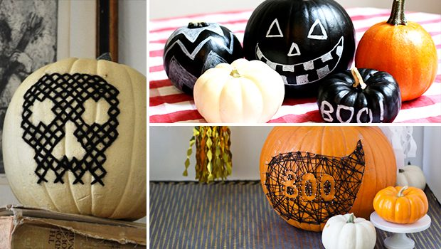 17 Epic No-Carve Pumpkin Designs For A Last-Minute Addition To Your Halloween Decor