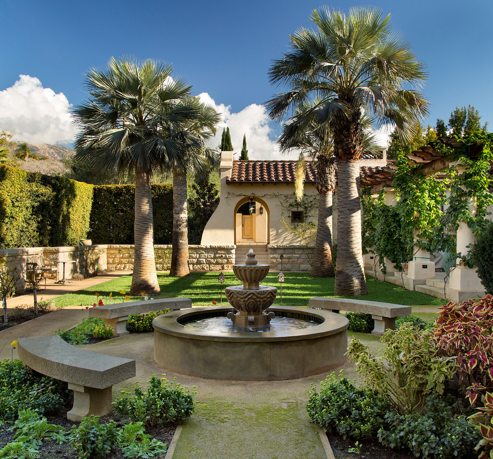 20 scenic mediterranean landscape designs that will steal for Mediterranean garden design