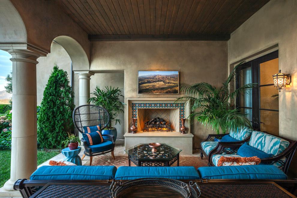 20 Sensational Mediterranean Patio Designs You Ll Fall In