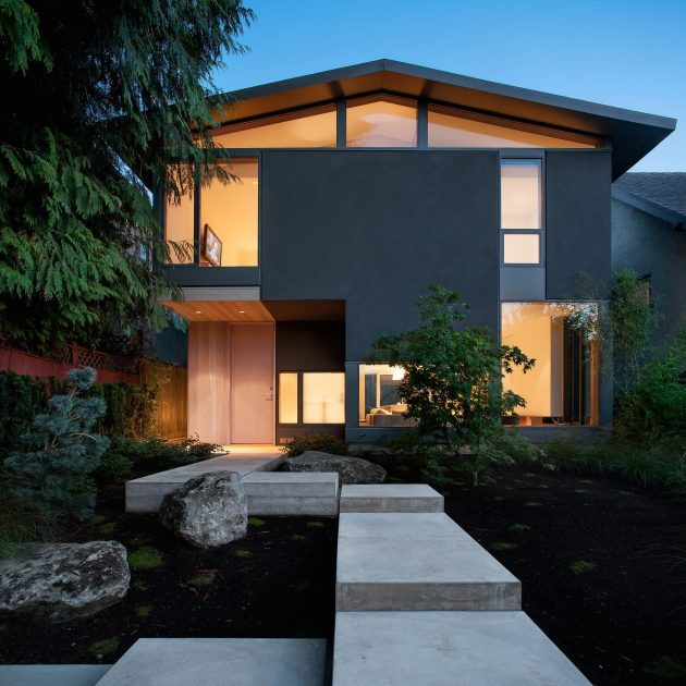 430 House by D'Arcy Jones Architecture in Vancouver, Canada