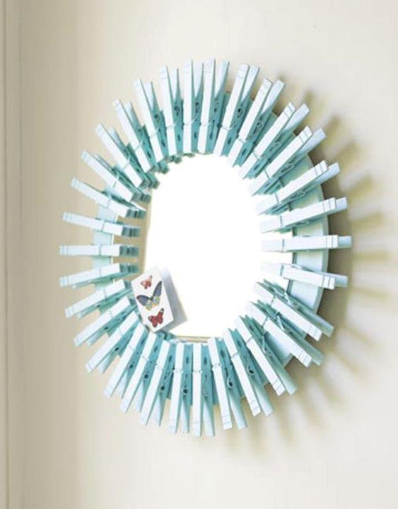 19 Attractive DIY Mirror Designs That Everyone Can Make