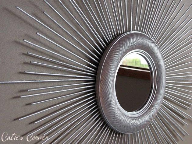 19 Attractive DIY Mirror Designs That Everyone Can Make