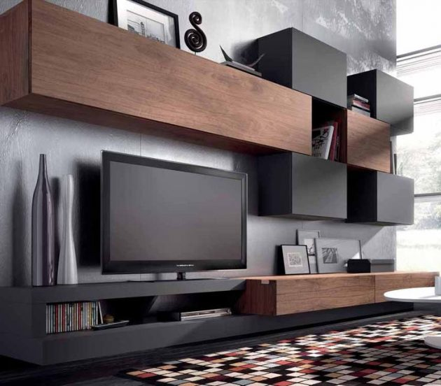 Small Home Design Ideas Com: 17 Outstanding Ideas For TV Shelves To Design More