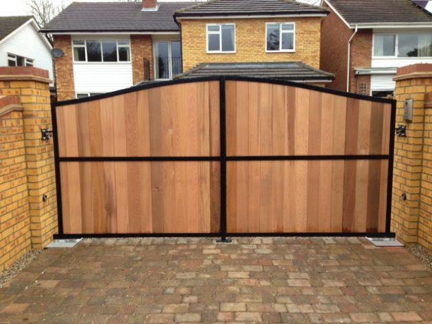 Fence Entrance Ideas