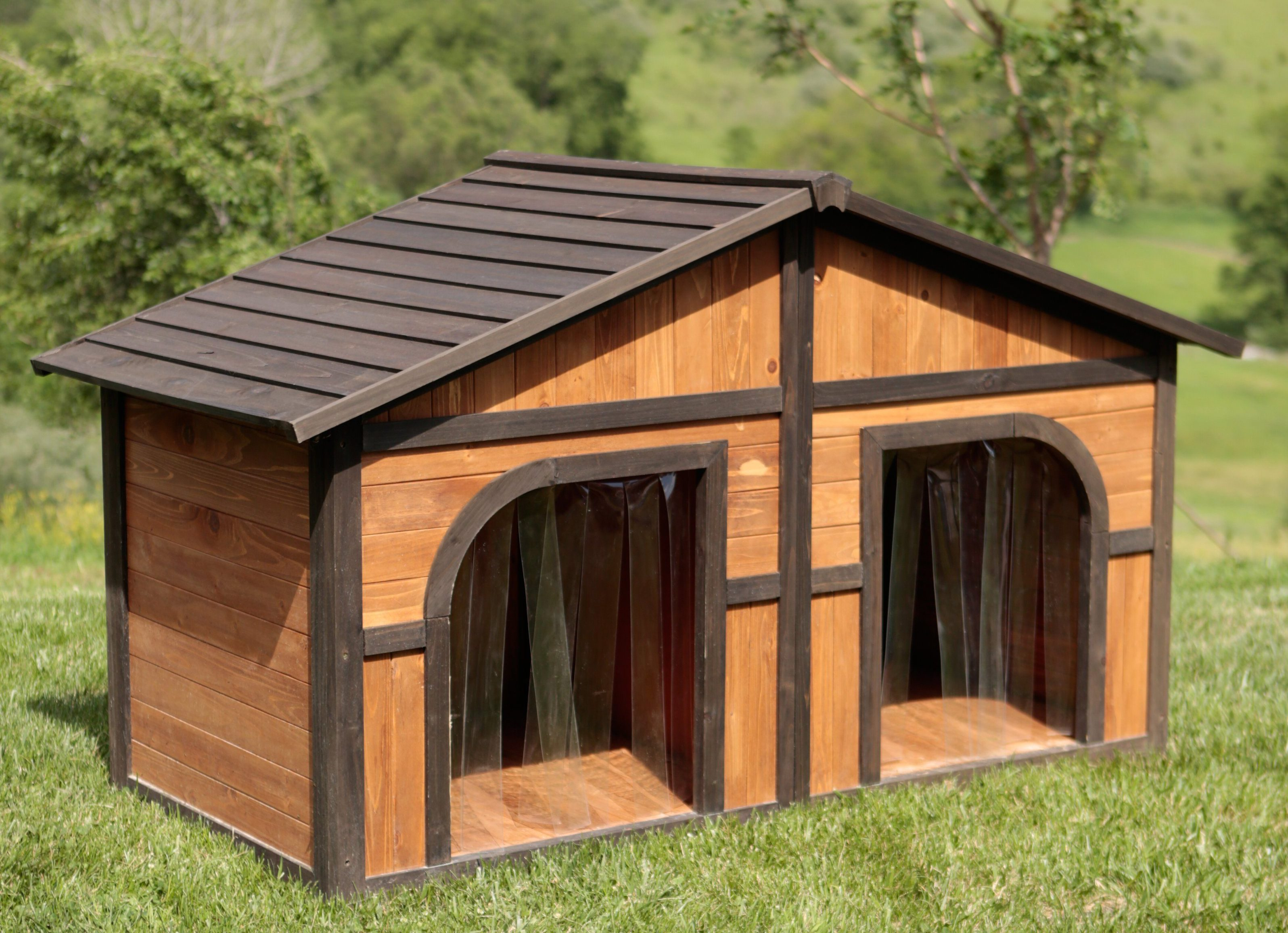 10 simple but beautiful diy dog house designs that you can for Architecture and design dog house