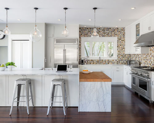6 Trending Kitchens That Show How to Work In a Bold Backsplash