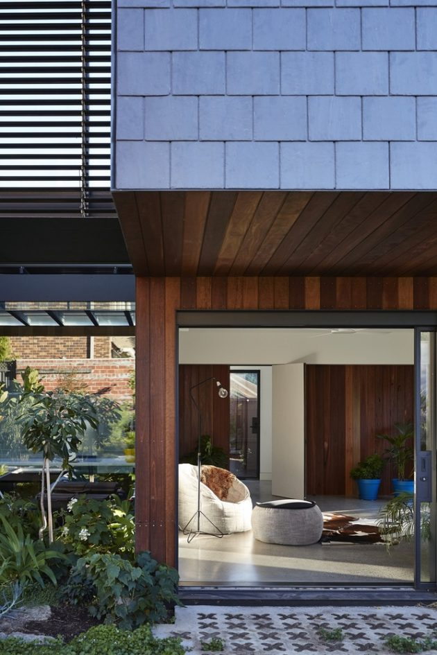 Charles House by Austin Maynard Architects in Kew, Australia