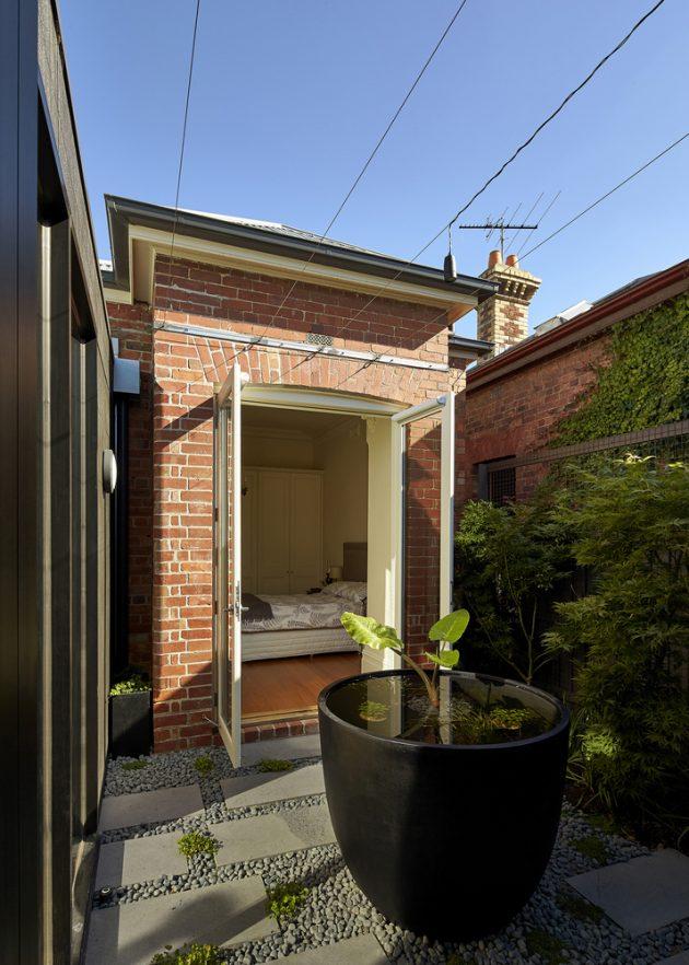 Diagonal House by Simon Whibley Architecture in Melbourne, Australia