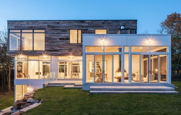 Gatineau Hills Home by Christopher Simmonds Architect in Québec, Canada