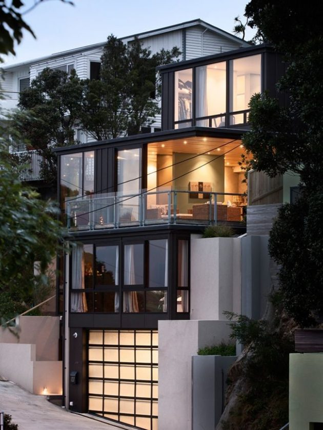 Hataitai Home by John Mills Architects in Wellington, New Zealand