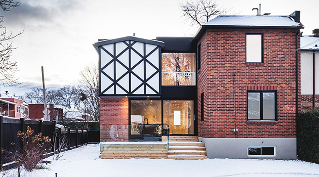 La Cardinale Residence by L. McComber Architects in Montreal, Canada
