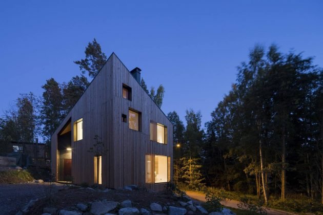 MK5 House by Ortraum Architects in Helsinki, Finland