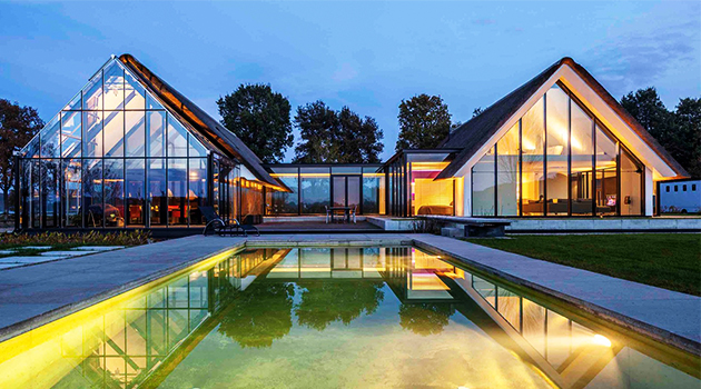 Modern Countryside Villa by Maas Architecten in Berlicum, Netherlands