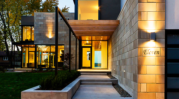 Ottawa River House by Christopher Simmonds Architect in Canada