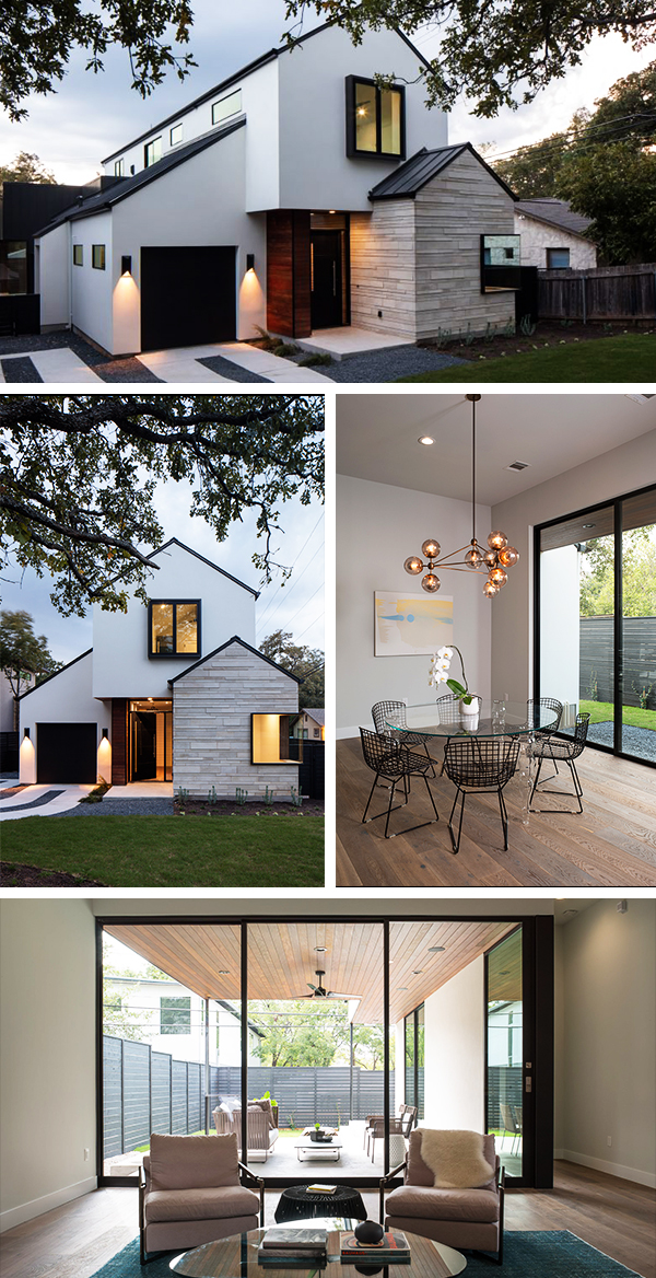 Palma Plaza Spec Residence by Dick Clark + Associates in Austin, Texas