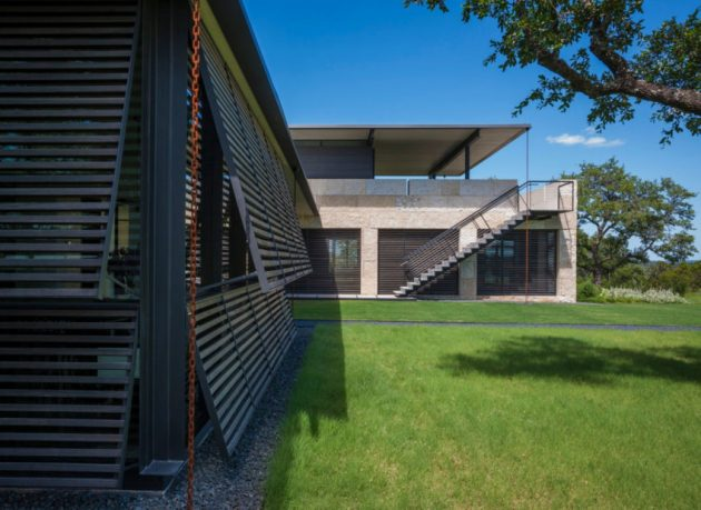 SK Ranch by Lake Flato Architects in Center Point, Texas