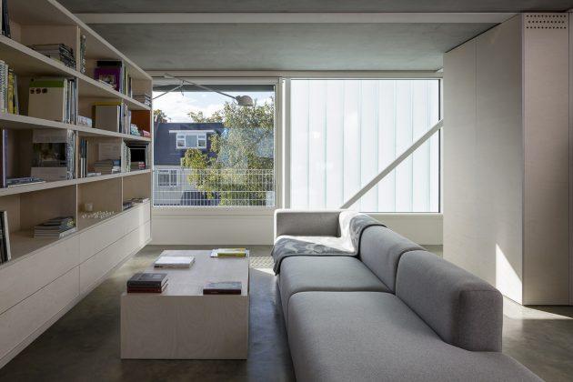 Slip House by Carl Turner Architects in London, United Kingdom