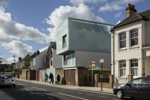 Slip House by Carl Turner Architects in London, United Kingdom