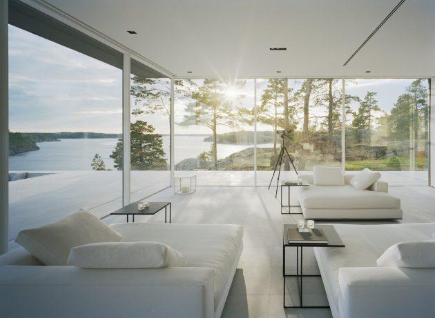 VillaÖverby by John Robert Nilsson Arkitektkontor in Stockholm, Sweden