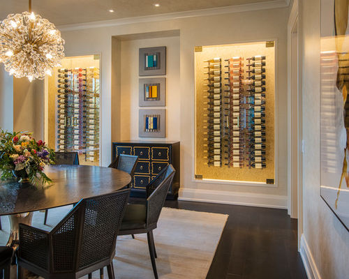 Up Your Entertaining Game With This Amazing Wine Cellar Inspiration