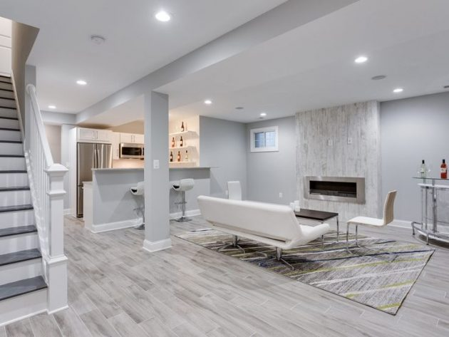 Great Carpeting Ideas For Basements: Amazing Ideas For Basement Renovation