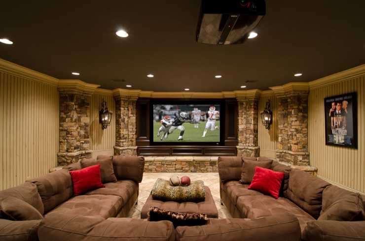 48 Remodeling Ideas For A Stunning And Practical Basement Custom Basement Remodels